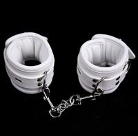 【新品缺货】概念皮革 SM白色软皮革海绵弹性束缚另类玩具