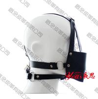 【新品】概念皮革 SM马具口球 黑色 成人玩具